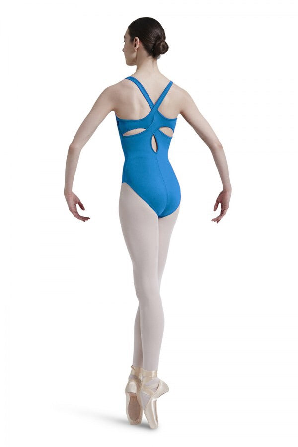 Mirella Square Lace Front Leotard