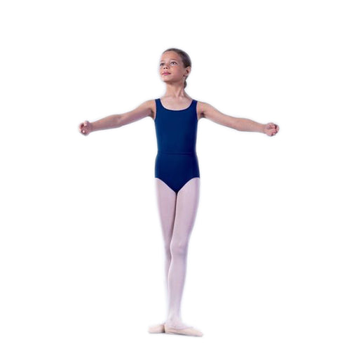 Regulation Megan Princess Line Leotard Navy Blue
