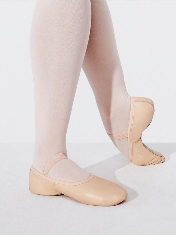 Capezio Pink Leather Lily Ballet Shoe