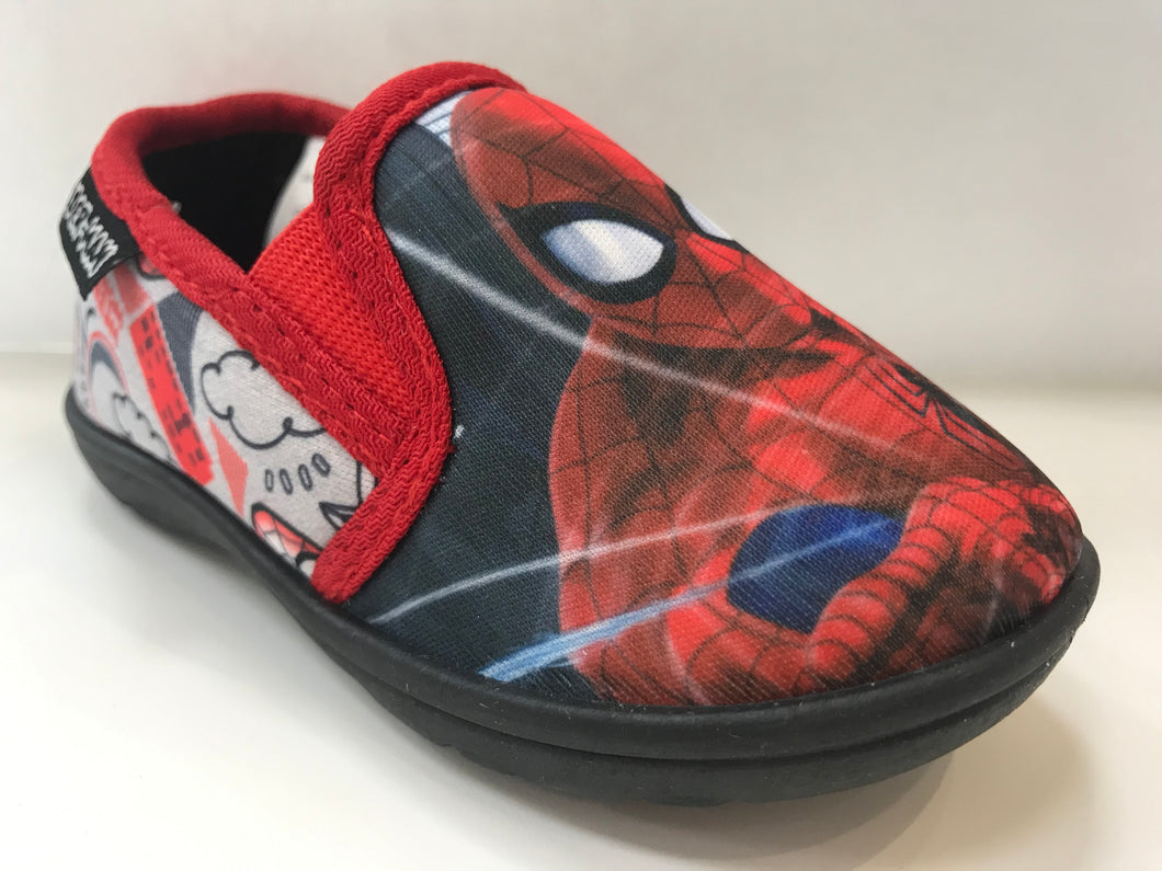 Black Spider-Man Slippers