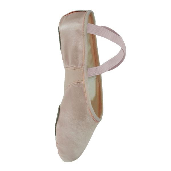 Starlite Flexi Pink Satin Split sole Ballet Shoe