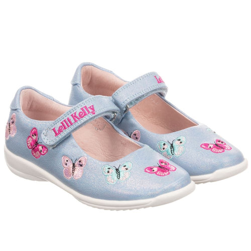 Lelli Kelly Light Blue Pearlised Princess