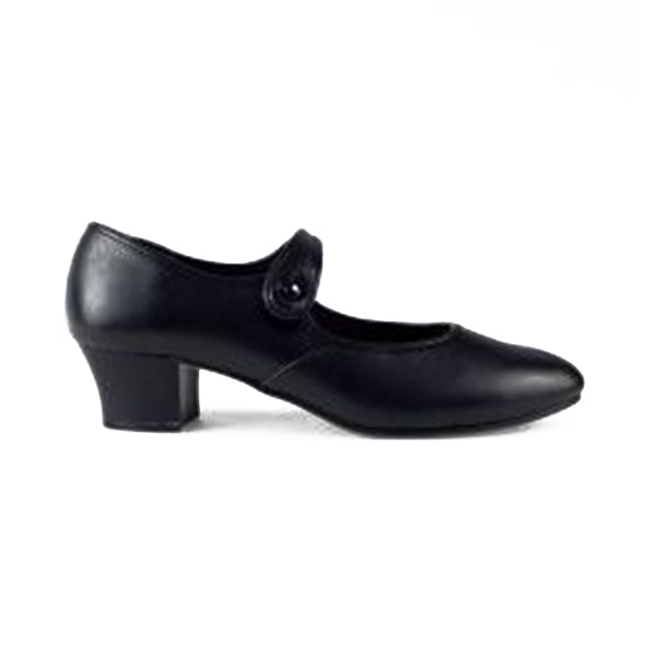 1st Position Cuban Heel Character Shoes - TheShoeZoo
