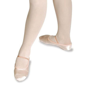 Roch Valley Pink Satin Full Sole Ballet Shoes
