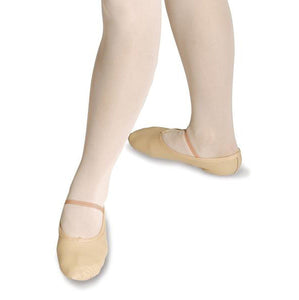Roch Valley Pink Leather Full Sole Ballet Shoes