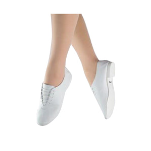 1st Position White Jazz Shoe - TheShoeZoo