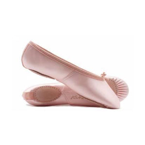 Katz Pink Satin Split Sole Ballet Shoes