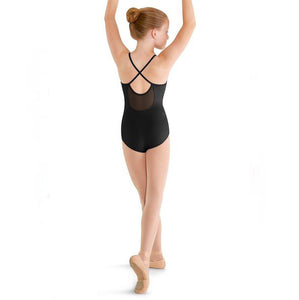 Mirella Girls Black Leotard