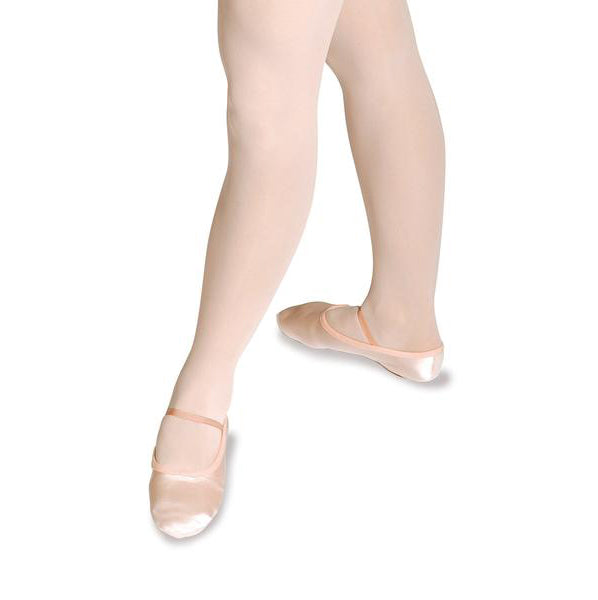 Roch Valley Pink Satin Split Sole Ballet Shoes
