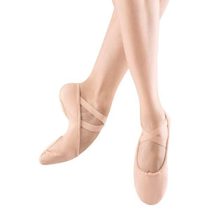 Bloch Proflex Pink Canvas Split Sole Ballet Shoes - TheShoeZoo