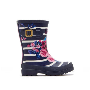 Joules Flower Print Wellies