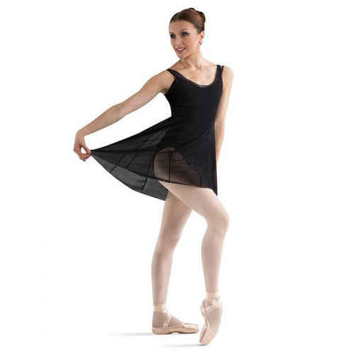 Bloch Mesh Over Dress - TheShoeZoo