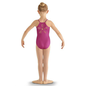 Bloch Flower Back Cami Leotard - TheShoeZoo