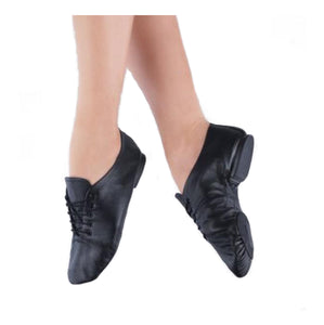 1st Position Split Sole Jazz Shoe - TheShoeZoo