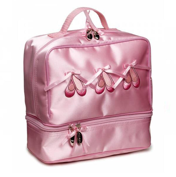 Katz pink Satin Ballerina Shoe Dance Bag
