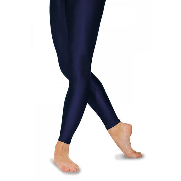 Roch Valley Navy Footless tights