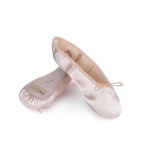Freed Pink Satin Full Sole Ballet Shoes - TheShoeZoo