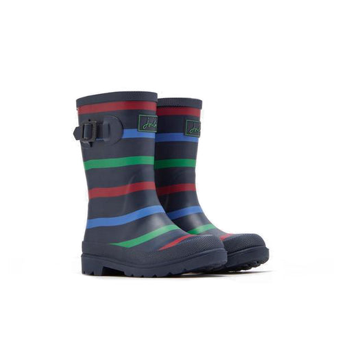 Joules Multi Stripe Wellies