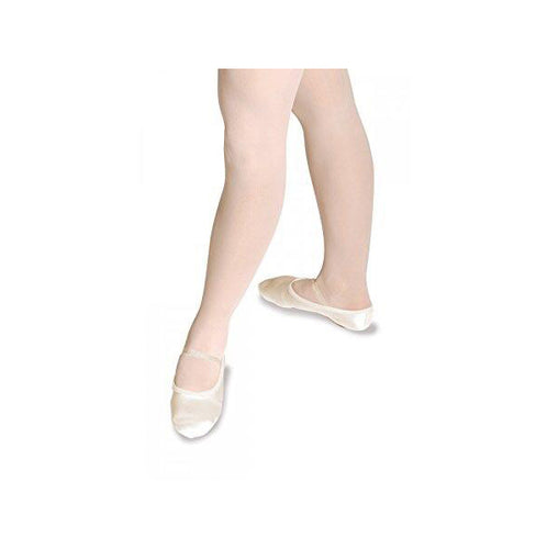 Roch Valley White Satin Full Sole Ballet Shoes