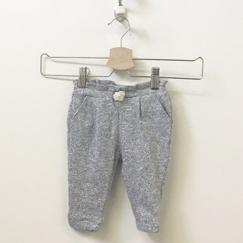 Gap Cotton Blend Sweatpants With Ruffle Waistband 3 - 6M