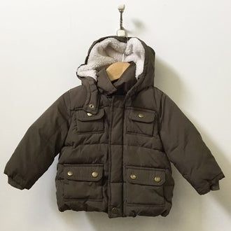 Gap Hooded Puffer Jacket 18M-24M