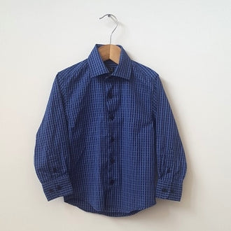 Ike Behar Long Sleeve Dress Shirt 4T