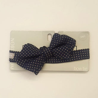 "*NEW* Nordstrom Silk ""Joey Dot"" Bow Tie O/S"