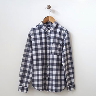 Zara Flannel Check Shirt 11/12Y