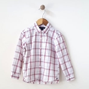 Tommy Hilfiger Plaid Shirt 4T