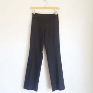 A Pea in the Pod Secret Fit Belly Boot Cut Ponte Pants with Back Pockets XS