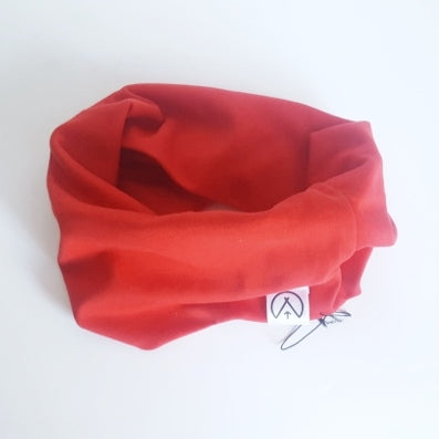 Red Loop Scarf