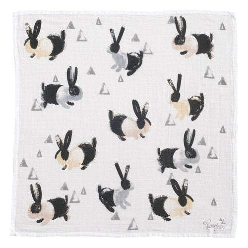 Bunnies Organic Swaddle Scarf