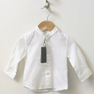 *NEW* Melby Linen Blend Button Down Shirt 6M