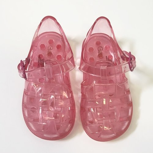 Gap Basketweave Jelly Sandals 5
