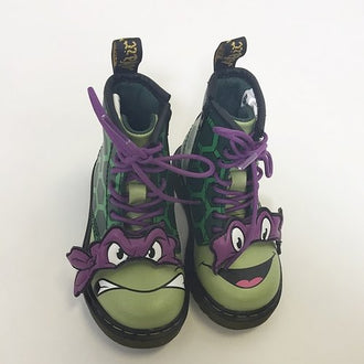 *NEW* Dr. Martens Ninja Turtles 8- Hole Donatello Boots Us 7