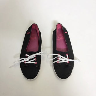 Vans  Canvas Tie Up Sneakers Size 2.5 K