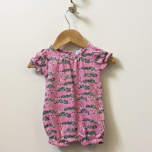 DVF for Gap Short Sleeve Tiger Print Onesie 0 - 3M