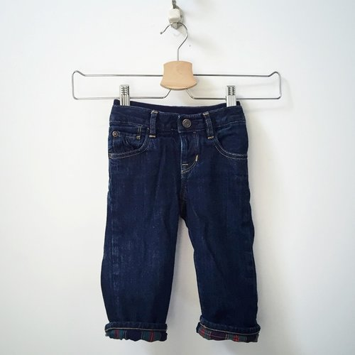 Gap Flannel Lined 5-Pocket Jeans 12M - 18M