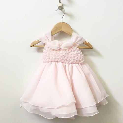 Cora Sleeveless Dress With Tulle Skirt And Sequins 6M