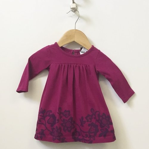 Tea Long Sleeve Printed Dress 3M - 6M