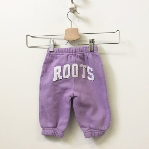 Roots 2-Piece Set Full Zip Hoodies & Track Pants 3M - 6M