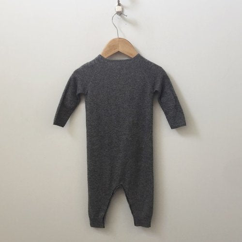 Bonpoint Silk And Cashmere Onesie 12M