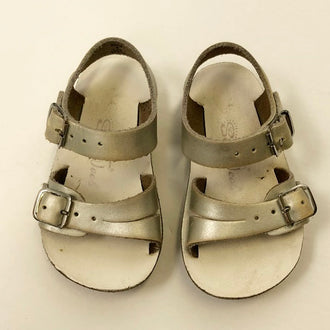 "Salt Water ""Sea Wees"" Leather Sandals 4T"