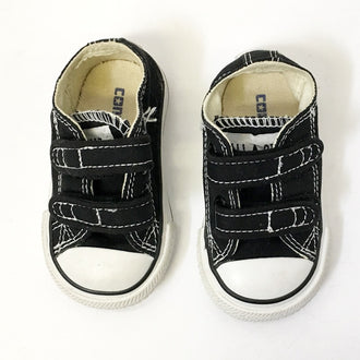 "Converse Velcro Chuck Taylor All Star ""Grip Tape"" Sneakers 3 Infant"