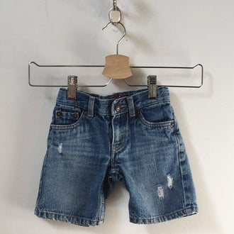 Levi's Distressed Jean Shorts 12M