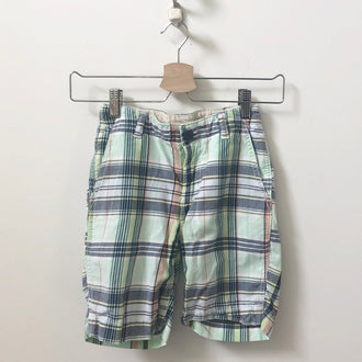 Gap Madras Plaid Shorts 6Y