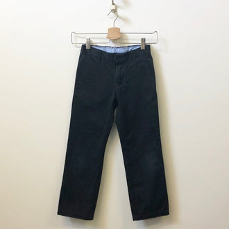 Gap Flat Front Adjustable Waist Khaki Pants 7Y