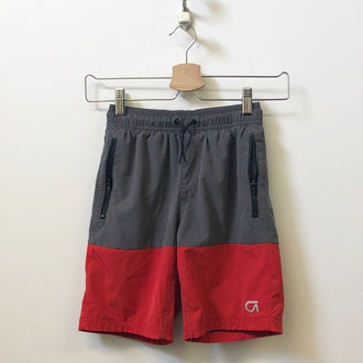 Gap Fit Striped Tech Shorts SM (6Y - 7Y)