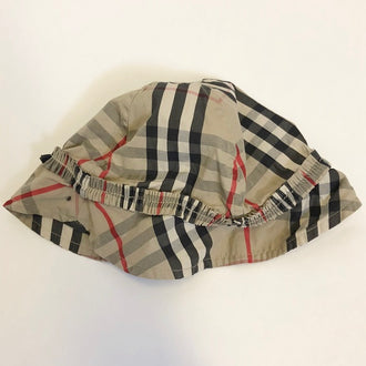 Burberry Plaid Sun Hat 12M