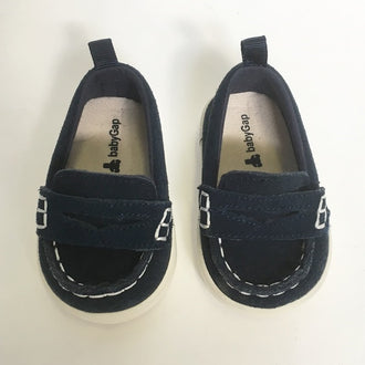 Gap Faux Suede Slip On Loafers 0 - 3M